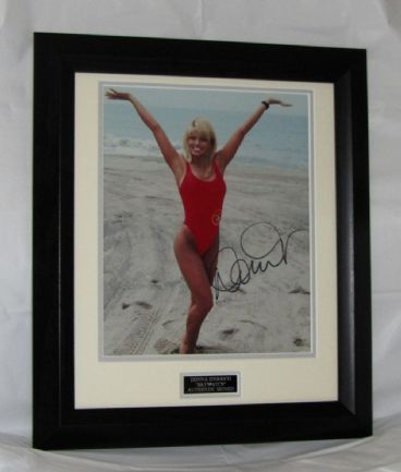 "A350DD DONNA D'ERRICO - ""BAYWATCH"" SIGNED  was £62.50 now £50"